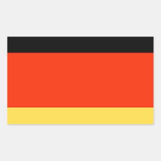 Germany Flag Rectangular Sticker