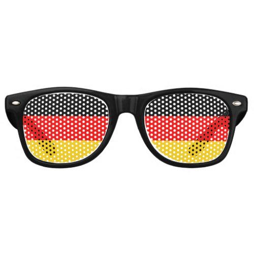 Germany Flag Retro Sunglasses