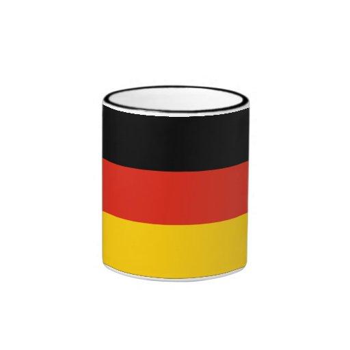 Germany Flag Ringer Mug