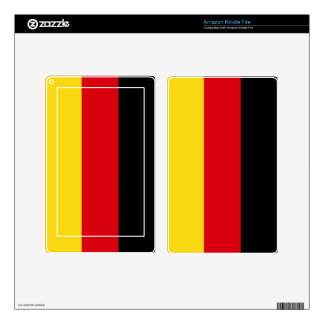 Germany Flag Kindle Fire Decals