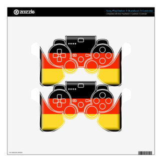 Germany Flag Skin For PS3 Controller