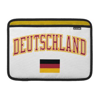 Germany + Flag Sleeves For MacBook Air