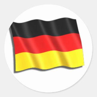 Germany Flag Round Sticker