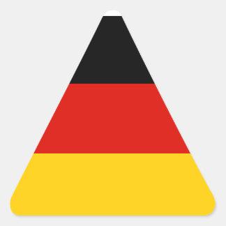 Germany Flag Triangle Sticker