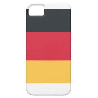 Germany flag using Twitter emoji iPhone 5 Case