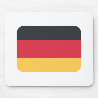 Germany flag using Twitter emoji Mouse Pad