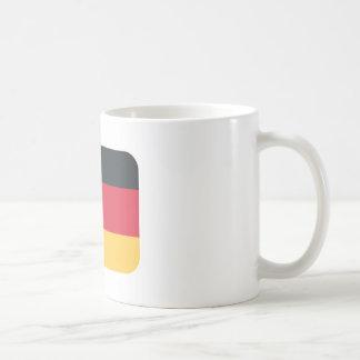 Germany flag using Twitter emoji Mug