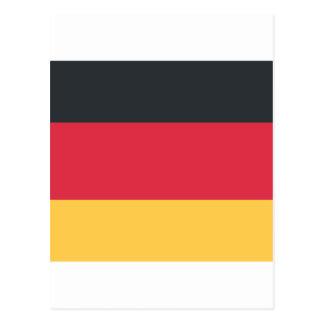 Germany flag using Twitter emoji Postcard