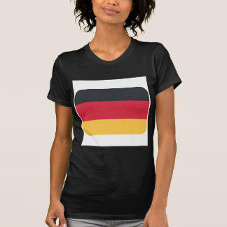 Germany flag using Twitter emoji Tee Shirt
