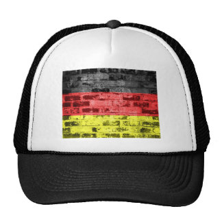 Germany  Flag Vintage Hat