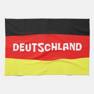 Germany Flag with wording Hand Towels