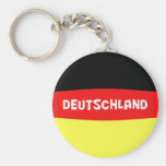 Germany Flag with wording Key Chains