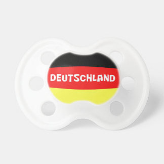 Germany Flag with wording Pacifier