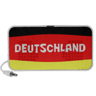 Germany Flag with wording iPhone Speaker