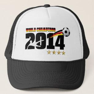 76291781864 Germany Flag World Champion 2014 Soccer Trucker Hat