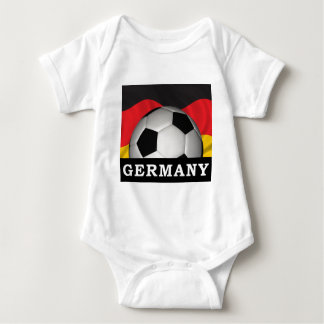 Germany Football Baby Bodysuit