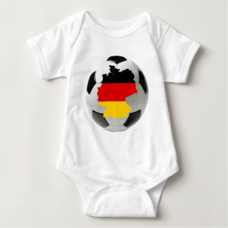 Germany football baby bodysuit