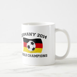 Germany Football Champions 2014 Coffee Mug