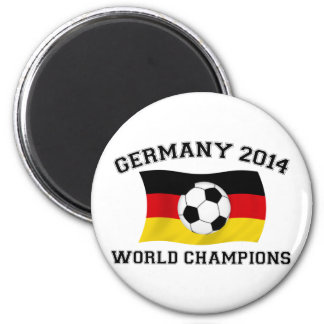 Germany Football Champions 2014 Magnet