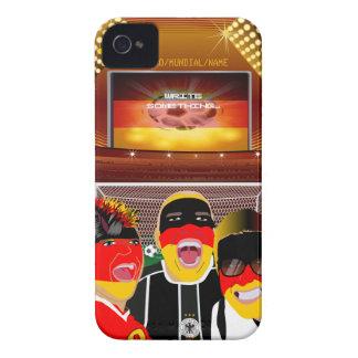 Germany Football Fan iPhone 4 Case
