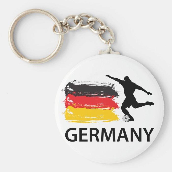 Germany Football Keychain