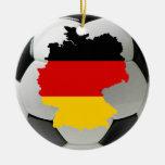 Germany football ornament