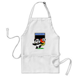 Apron with German Football Pand design
