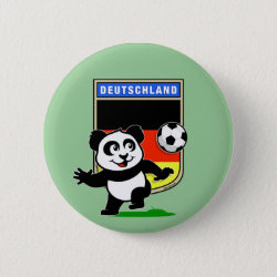 German Football Pand Round Button