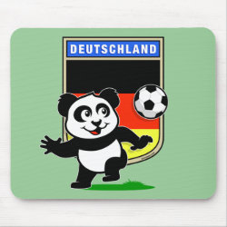 Mousepad with German Football Pand design