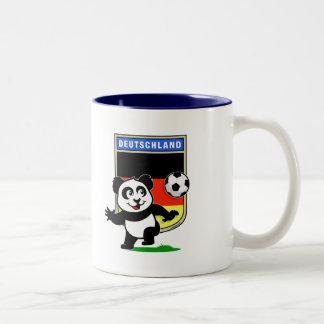 Germany Football Panda Mugs