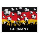 Germany Football Poster