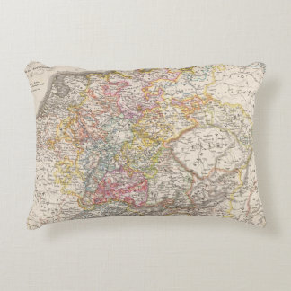 Germany from 1495 to 1618 accent pillow