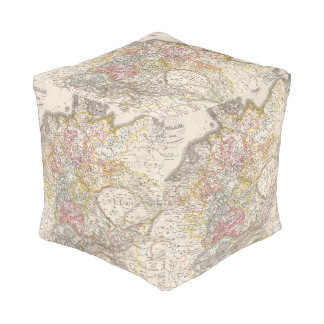 Germany from 1495 to 1618 cube pouf