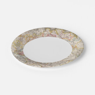 Germany from 1495 to 1618 paper plate