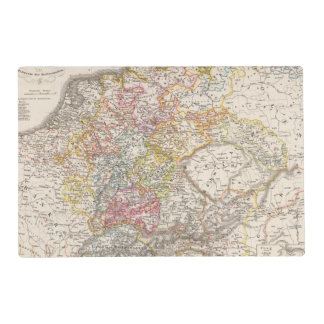 Germany from 1495 to 1618 placemat