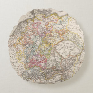 Germany from 1495 to 1618 round pillow