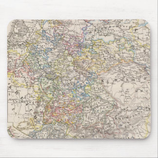 Germany from 1649 to 1792 mouse pad
