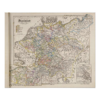 Germany from 1649 to 1792 poster