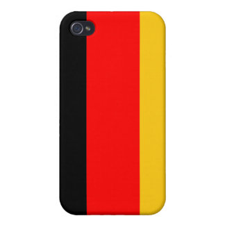 Germany: German Flag -  iPhone 4/4S Cover