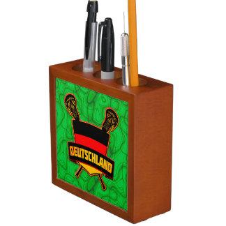 Germany German Lacrosse Logo Pencil/Pen Holder