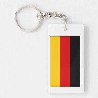 Germany – German National Flag Rectangular Acrylic Key Chain