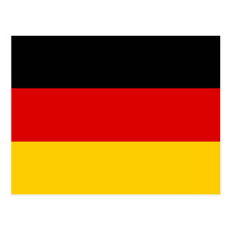 Germany – German National Flag Postcard