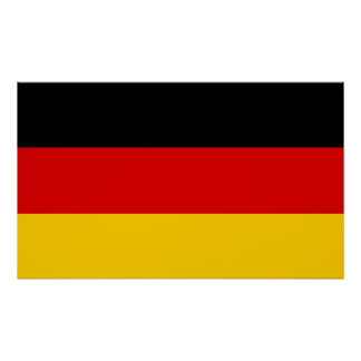 Germany – German National Flag Poster