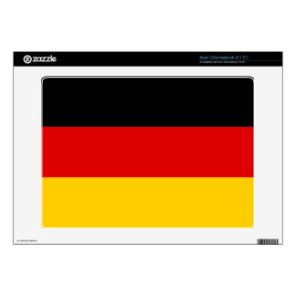 Germany – German National Flag Acer Chromebook Decals