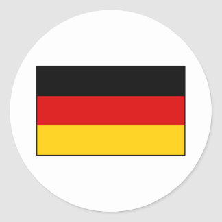 Germany – German National Flag Round Stickers
