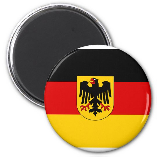 Germany , Germany 2 Inch Round Magnet