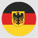 Germany , Germany Round Stickers