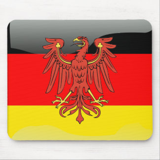 Germany glossy flag mouse pad