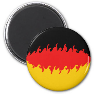 Germany Gnarly Flag Magnet