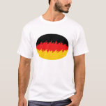 Germany Gnarly Flag T-Shirt